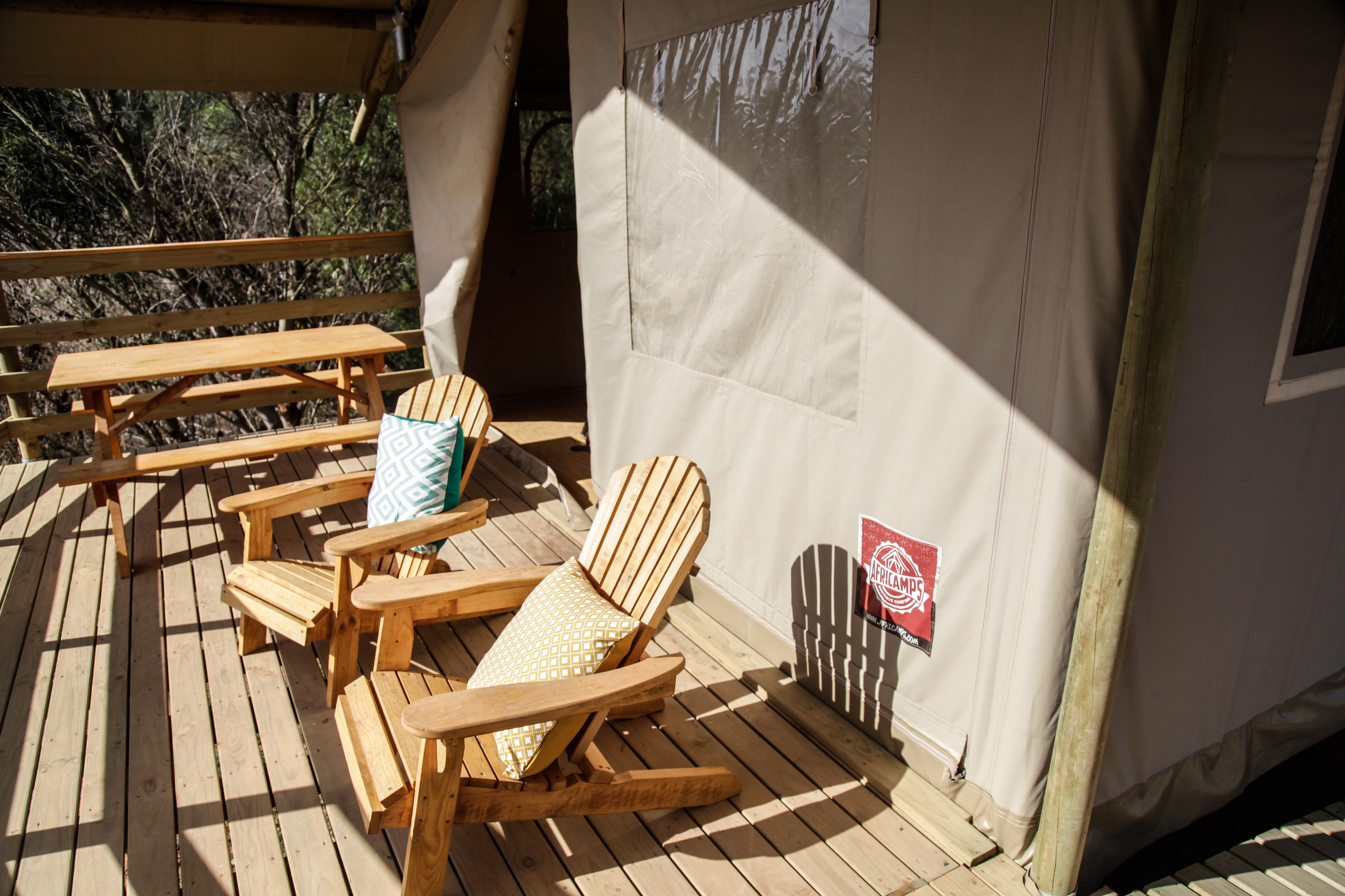 Sit back and relax at Africamps at Kam'Bati