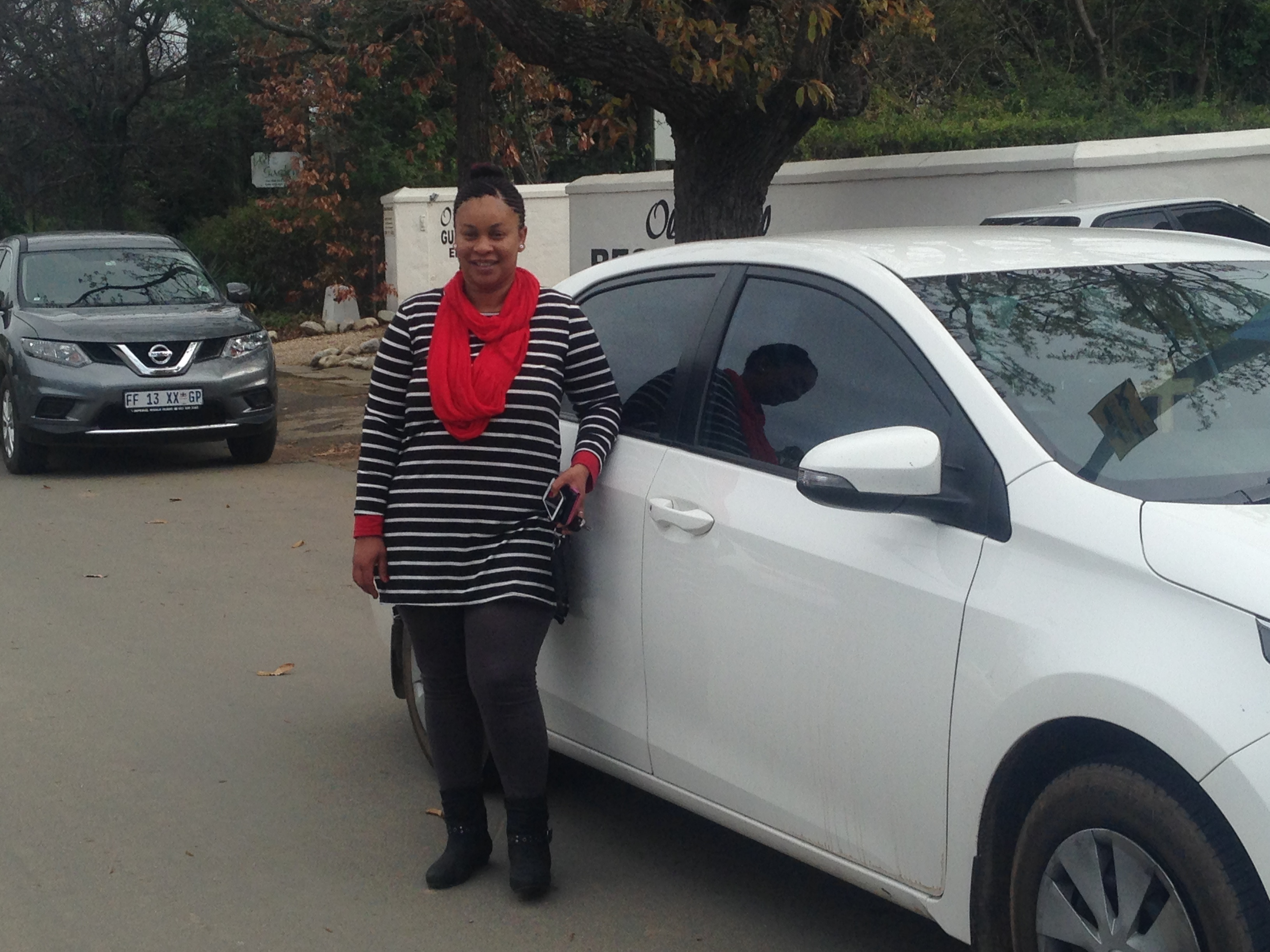 The owner, Annelize from local taxi service Swellencab in Swellendam