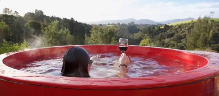 AfriCamps Ingwe Hot Tub