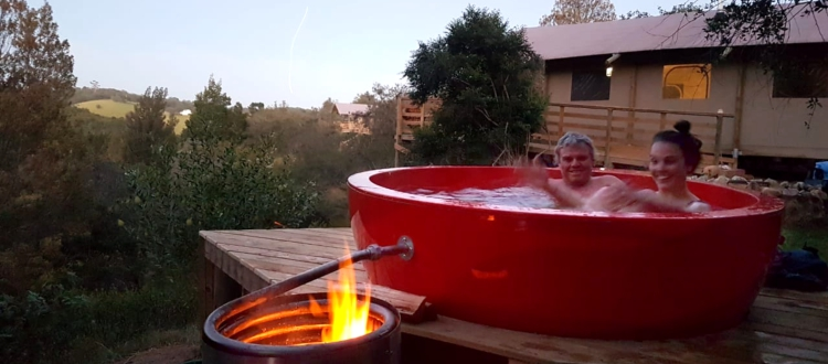 AfriCamps Ingwe Hot Tub