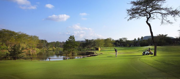 AfriCamps Mackers Sabie River Sun golfing Winter