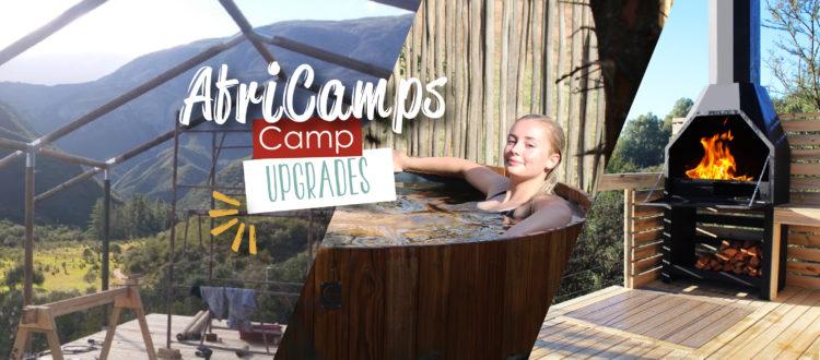 AfriCamps upgrades
